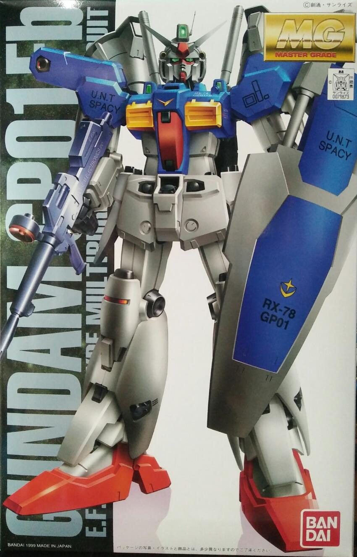 MG 1/100 GUNDAM GP01-FB(COATING VERSION)