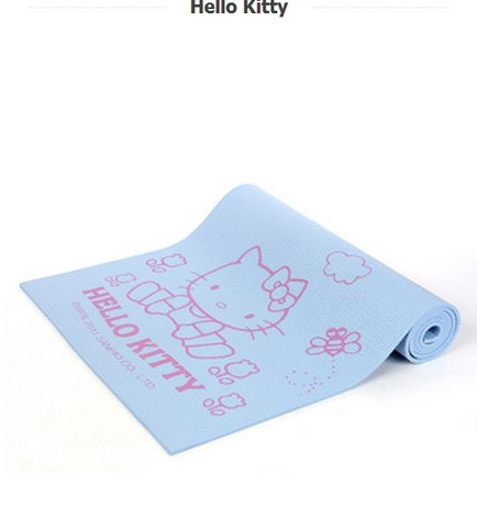(พรีออเดอร์) เสื่อโยคะHello Kitty 6 mm