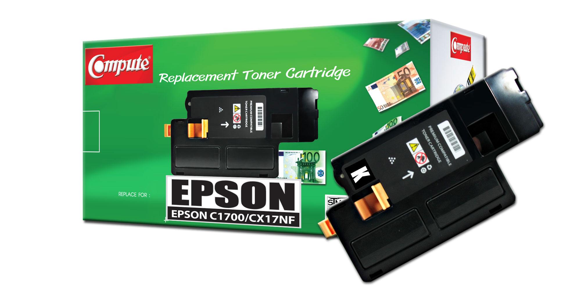 ตลับหมึกเลเซอร์ EPSON C13S050614 (Black) Compute (Toner Cartridge)
