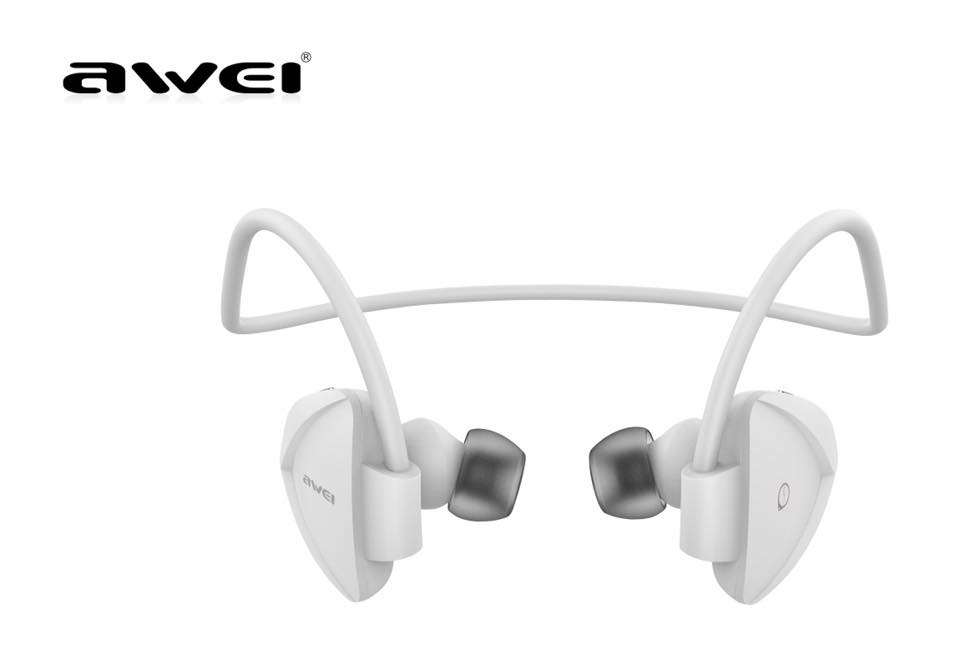 หูฟัง Awei A840BL For Headphones Smart Sports Bluetooth 4.0 - White สีขาว