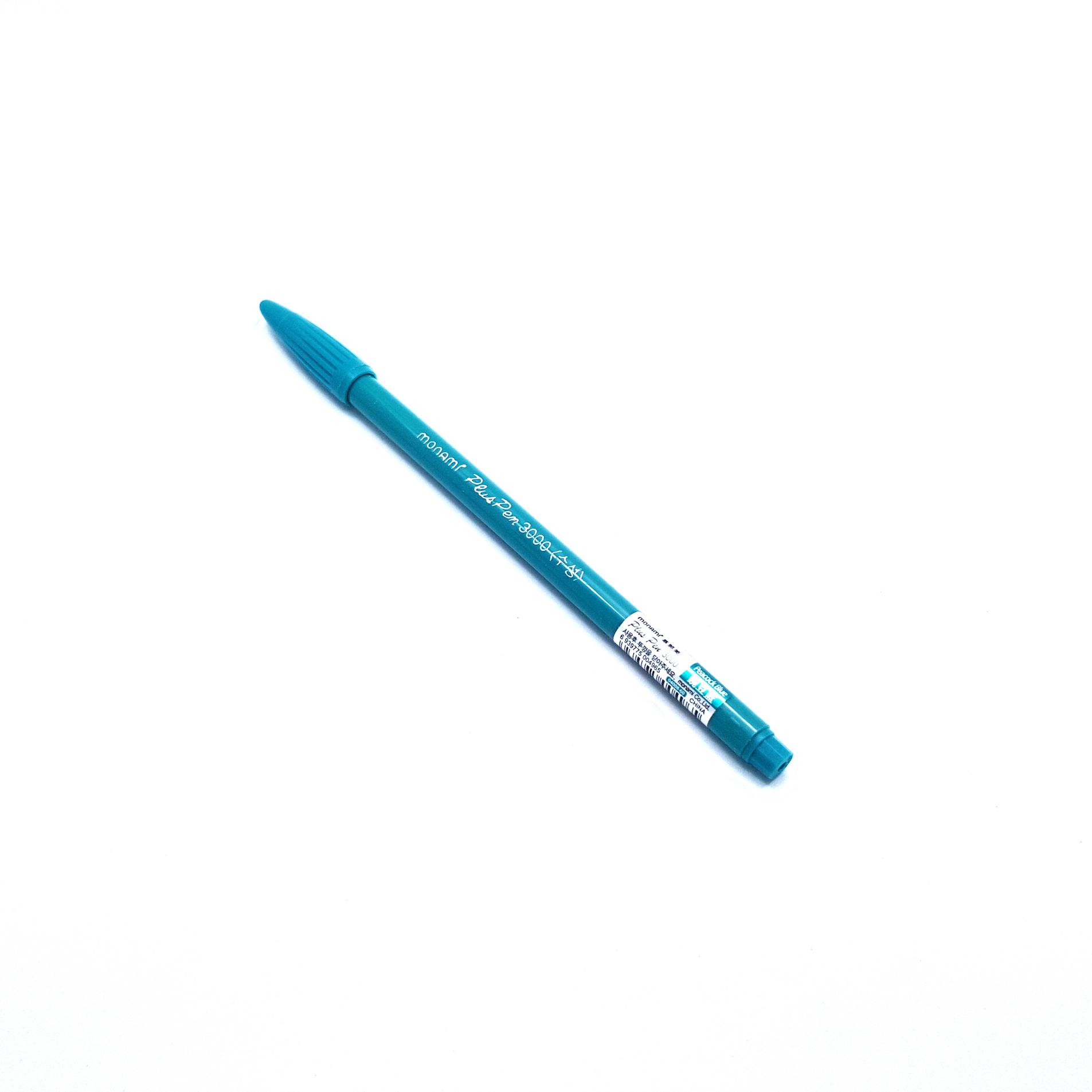 ปากกาสี Monami PlusPen 3000 - No.60 Peacock Blue