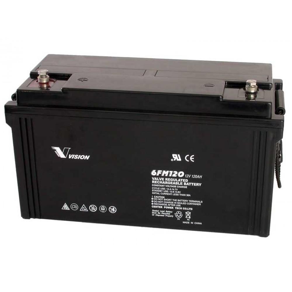 แบตเตอรี่ขนาด 120Ah 12V ชนิด Deep Cycle - AGM