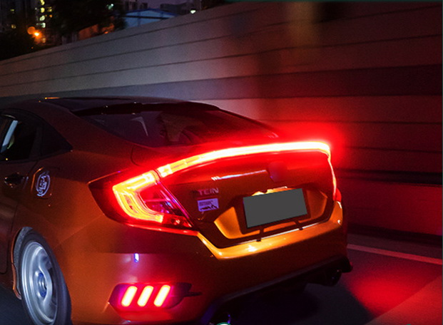 ไฟ LED ทับทิมท้ายกลาง Honda Civic 2016