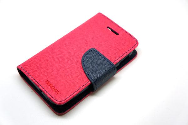 Goospery Case For Samsung Galaxy Y สีชมพูเข้ม