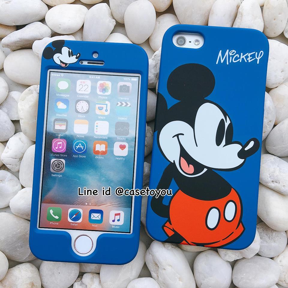 เคสประกบหน้า-หลัง Mickey Mouse iPhone 5 เท่านั้น