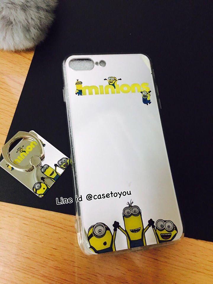 เคสกระจกเงา Minion iPhone 5/5S/SE