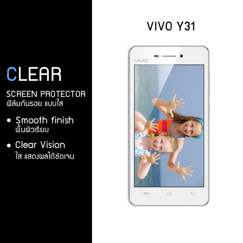ฟิล์มกันรอย Vivo Y31 แบบใส