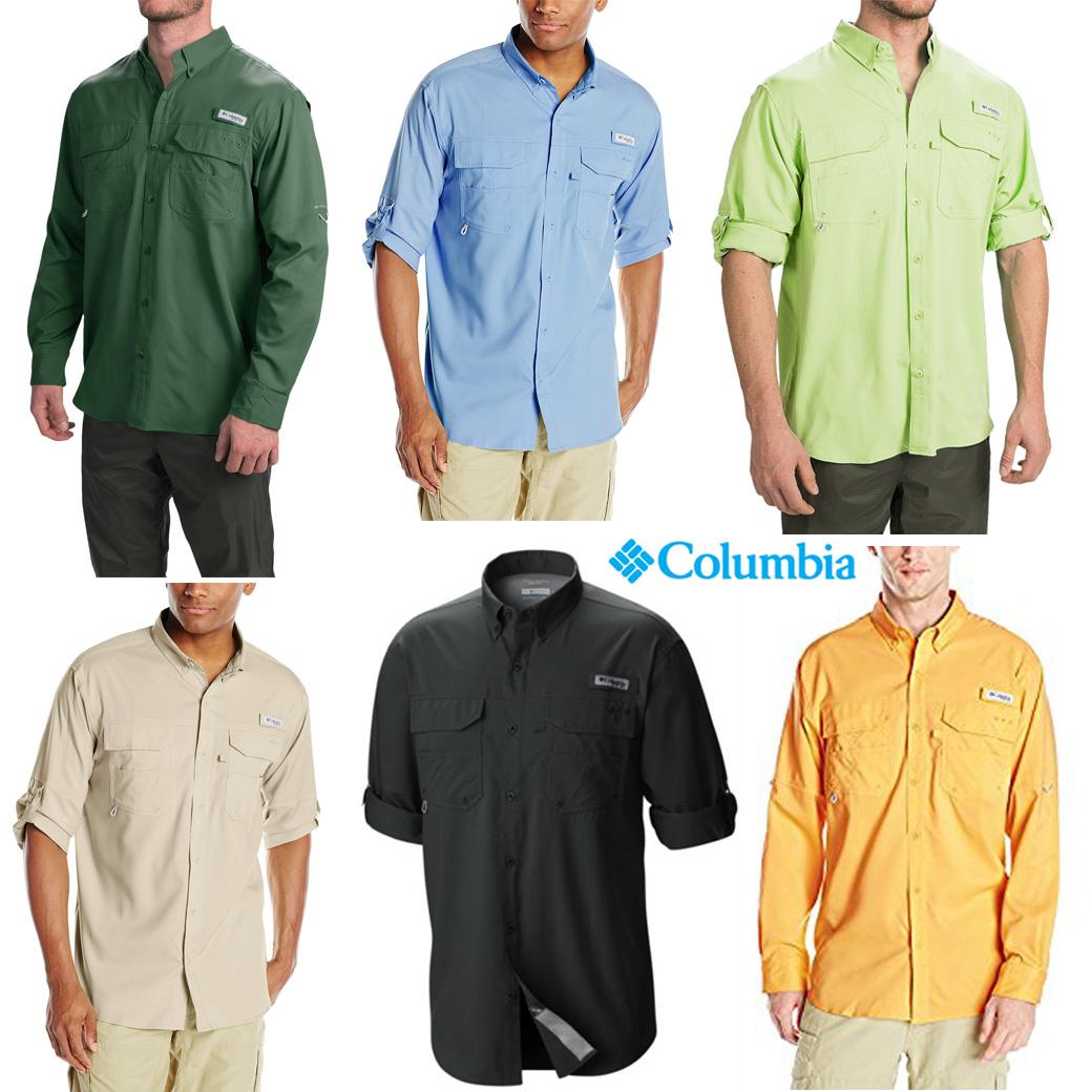 Columbia Men's PFG Blood and Gut Shirt (Short & Long Sleeve )