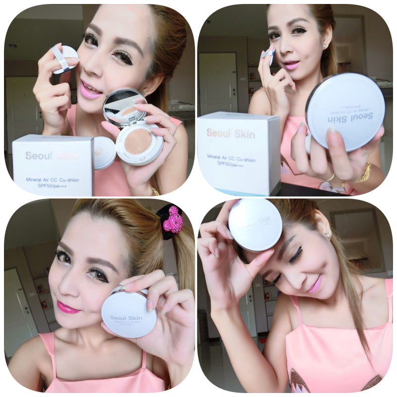 Soul Skin Mineral Air CC Cushion SPF 50 PA+++