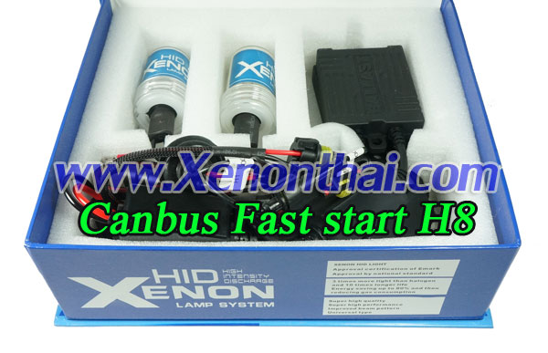 ไฟXenon kit H8 Canbus AC35W Fast start