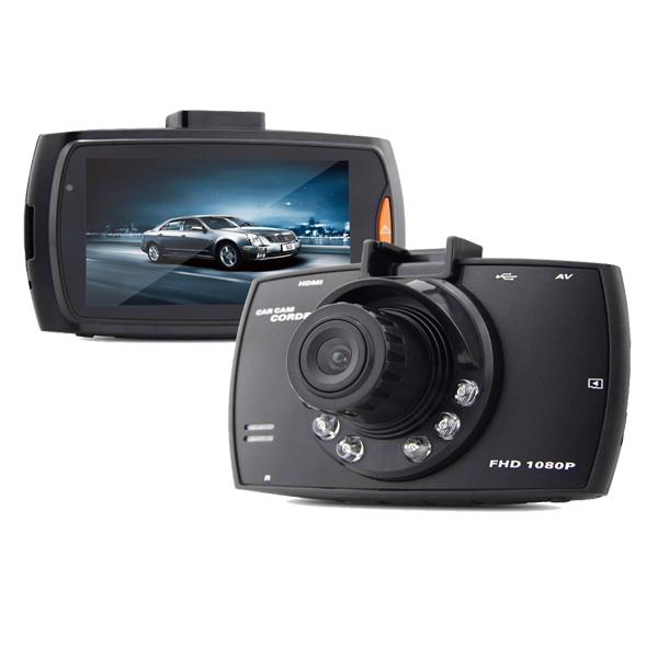 กล้องติดรถยนต์ราคาถูก Car camcorder G30 2.7 inch Full HD1080P สีดำ