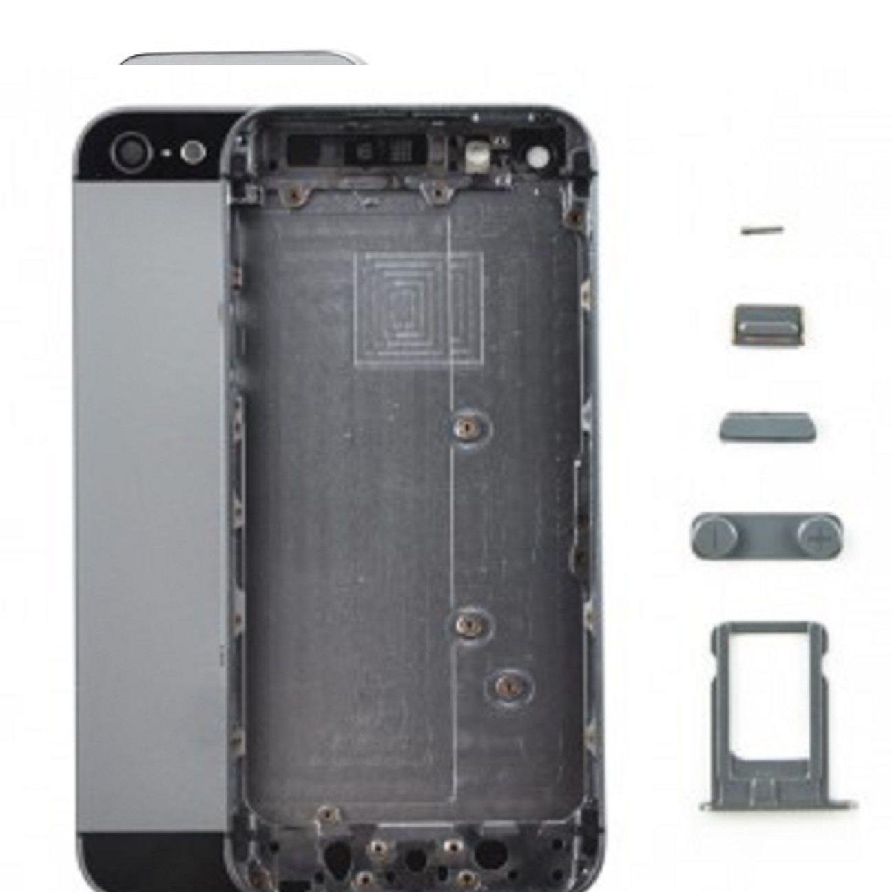 อะไหล่ไอโฟน5 เคสกลางไอโฟน 5 (สีดำ)
