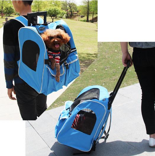 กระเป๋าใส่สุนัข กระเป๋าใส่แมว 2 in 1