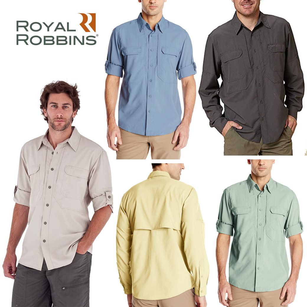 Royal Robbins Men's Expedition ( Mid & Light ) LS Shirt