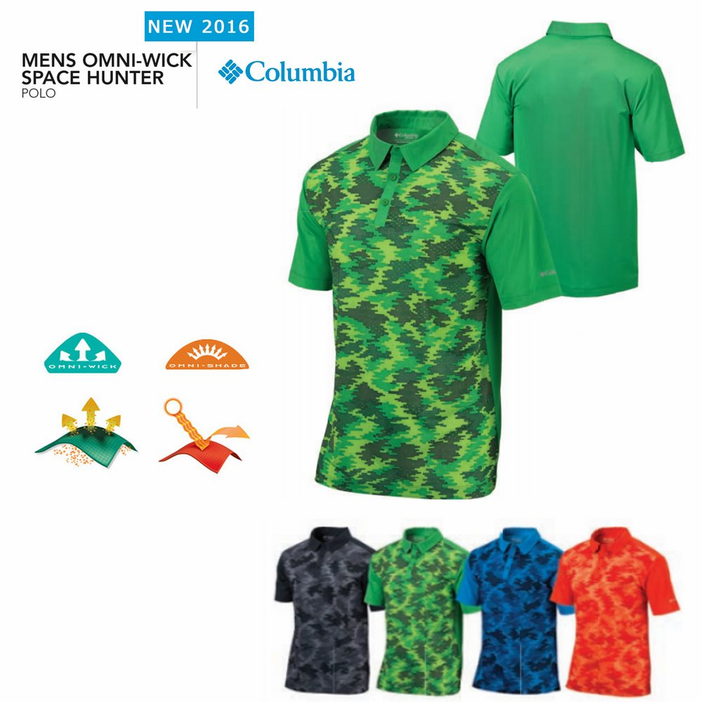 Columbia Space Hunter Polo