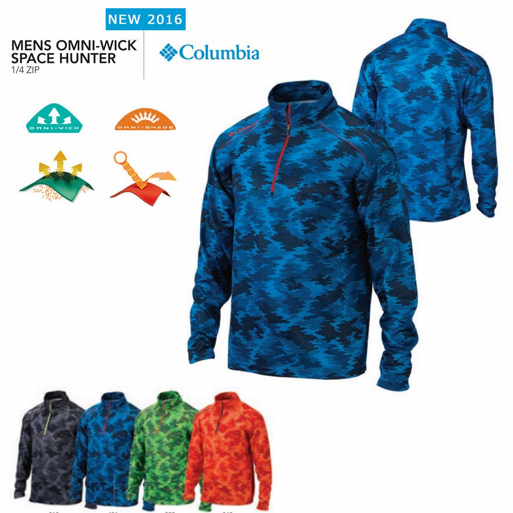 Columbia Space Hunter 1/4 long sleeve Polo