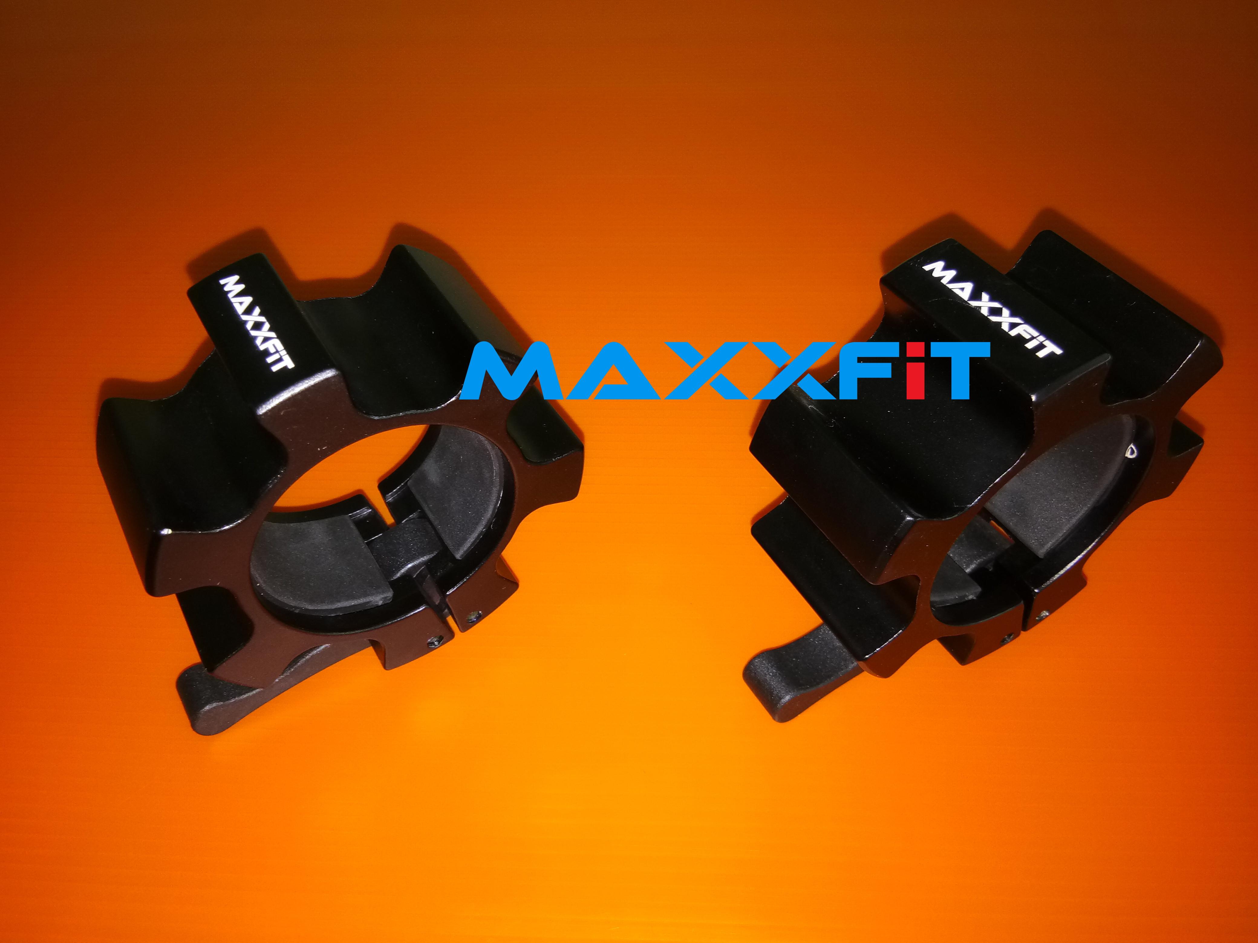 ขาย คลิปล็อคคานบาร์เบลอลูมิเนียม ขนาด 2 นิ้ว (MAXXFiT Olympic Bar Collar Aluminum 50 MM.)