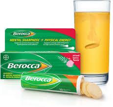 Berocca Performance Fruity บีรอคคา เพอร์ฟอร์มานซ์ ฟรุ๊ตตี้ บรรจุ 15 เม็ดฟู่ บำรุงร่างกาย บำรุงระบบประสาท ให้คุณรู้สึกสดชื่น กระปรี้ กระเปร่า บำรุงสมอง