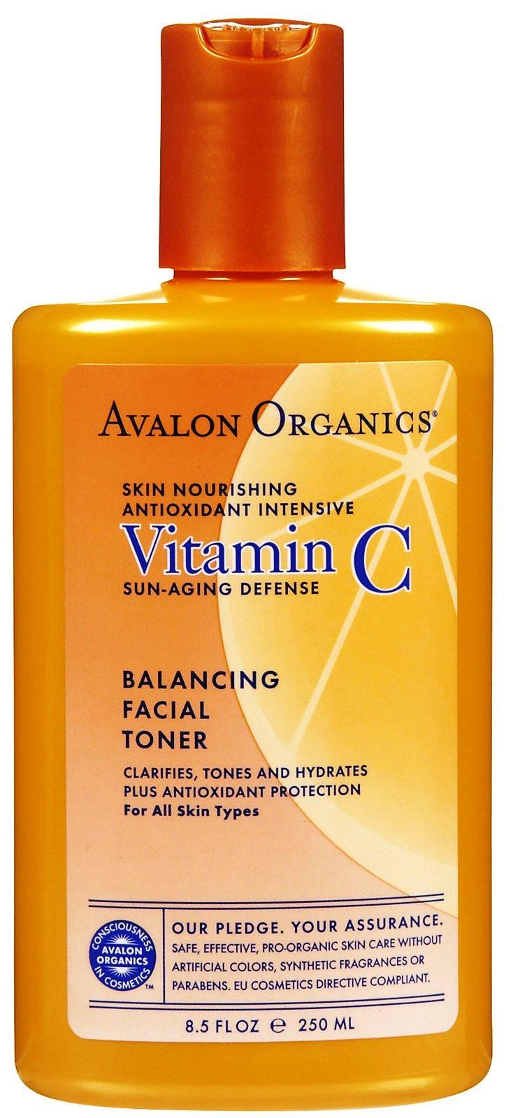 ลด 30 % AVALON ORGANICS :: Vitamin C Balancing Facial Toner ทำความสะอาด ปรับโทนผิว ให้ความชุ่มชื้น สำหรับทุกสภาพผิว