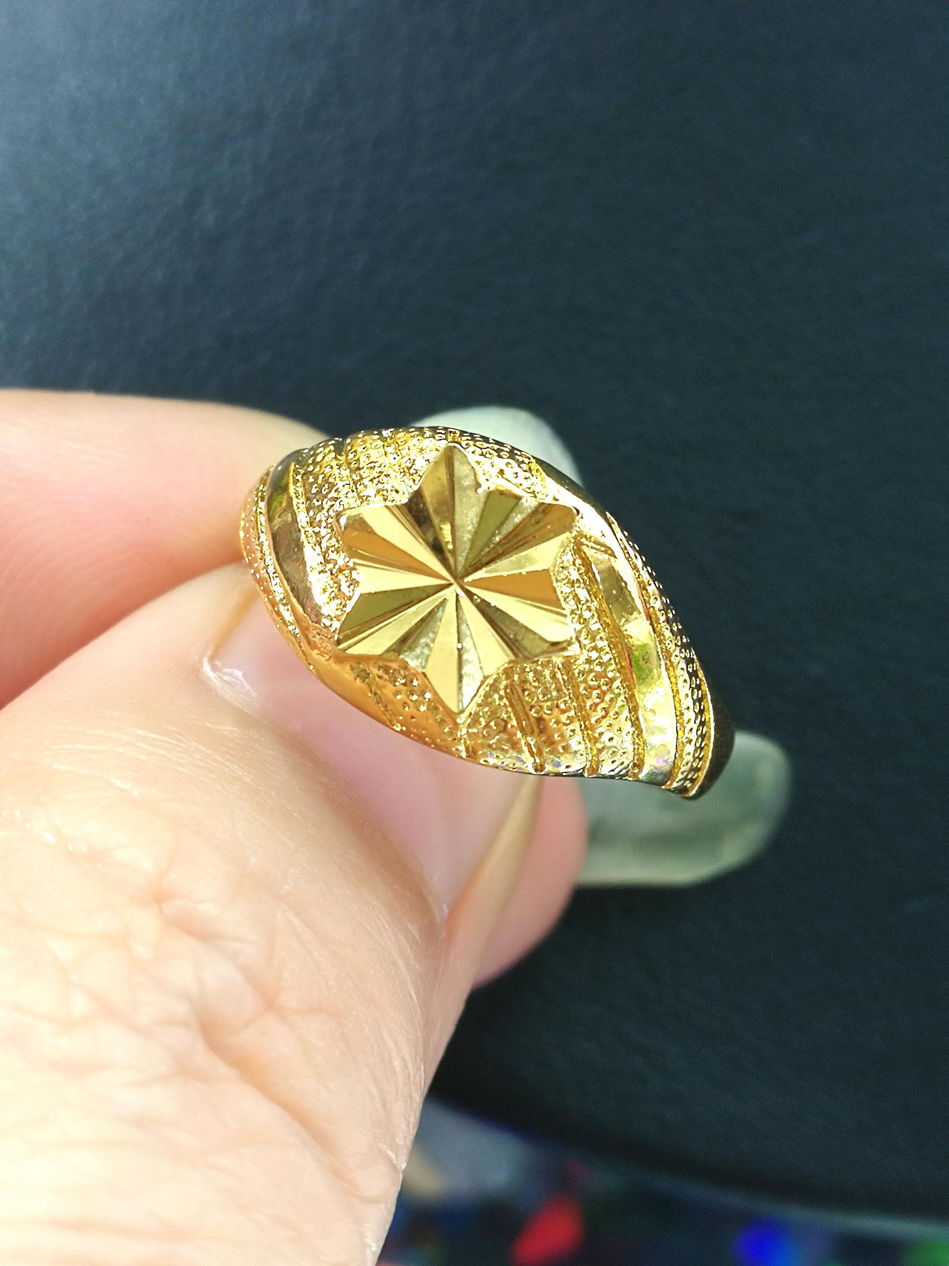 แหวนหุ้ม ทองคำแท้รหัส JR098