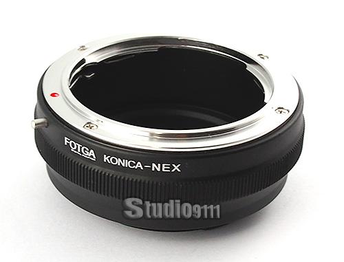 อแดปเตอร์แปลงท้ายเลนส์ KONICA AR ใช้กับกล้อง SONY NEX