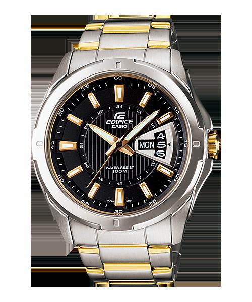 นาฬิกา คาสิโอ Casio Edifice 3-Hand Analog รุ่น EF-129SG-1AV สินค้าใหม่ ของแท้ ราคาถูก พร้อมใบรับประกัน