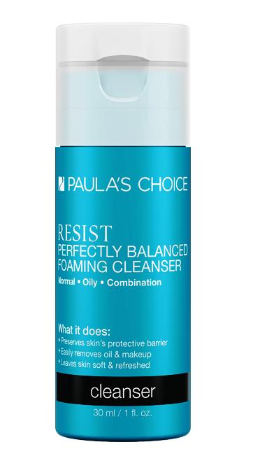 PAULA'S CHOICE :: DELUXE Resist Perfectly Balanced Foaming Cleanser โฟมล้างหน้าผสานการบำรุงลดเลือนริ้วรอย ซ่อมแซมเซลล์ผิว สามารถล้างเครื่องสำอางแบบกันน้ำได้อย่างมีประสิทธิภาพ