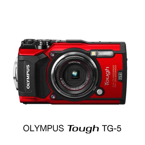 Olympus Tough TG-5 รุ่นใหม่ สีแดง ประกันศูนย์ Olympus Thailand 1 ปี