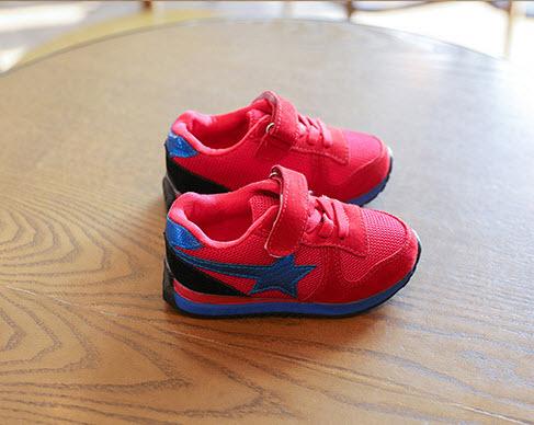 **รองเท้าStar 2 สี 27-28(Pink Star),29-30 (Red Star) | ชมพู,แดงในแพ็คเดียวกัน | 4คู่/แพ๊ค | เฉลี่ย 200/คู่