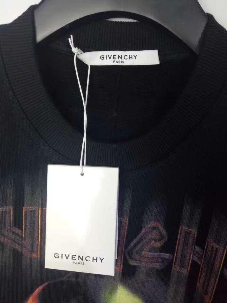เสื้อแขนยาว Givenchy Skull And Crossbones Print Sweatshirt 4