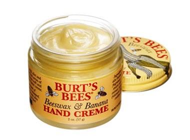 BURT'S BEES :: Burt's bee Beeswax & Banana Hand Creme เพิ่มความนุ่ม คืนความชุ่มชื้นสู่มือคุณ ด้วยคุณค่าของบีแวกซ์เเละกล้วย