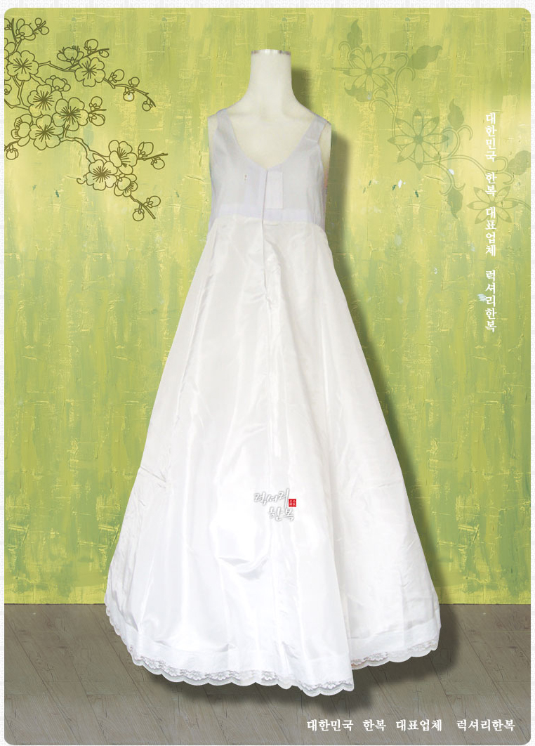 กระโปรงซับในฮันบก แบบ 2 ชั้น Hanbok Inner 2 layers