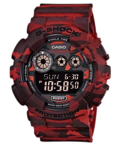 นาฬิกา คาสิโอ Casio G-Shock Special Color Models รุ่น GD-120CM-4 สินค้าใหม่ ของแท้ ราคาถูก พร้อมใบรับประกัน