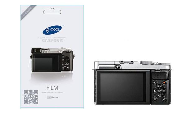 ฟิล์มกันรอยจอ LCD E-cool สำหรับ SONY NEX 5R NEX 5T