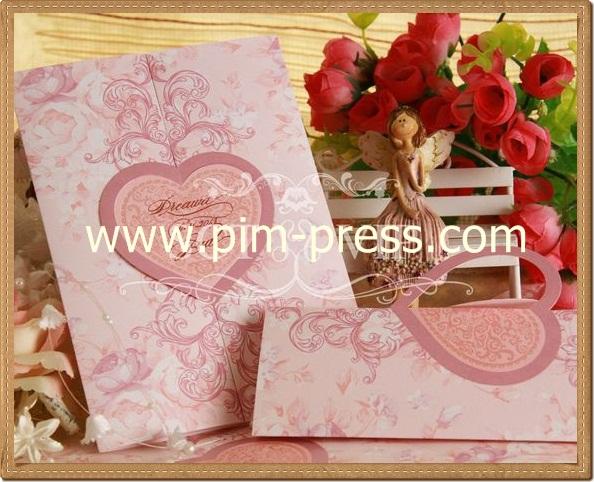 การ์ดแต่งงาน VIP-SCT ห้าพับ (29-0231,29-0236)