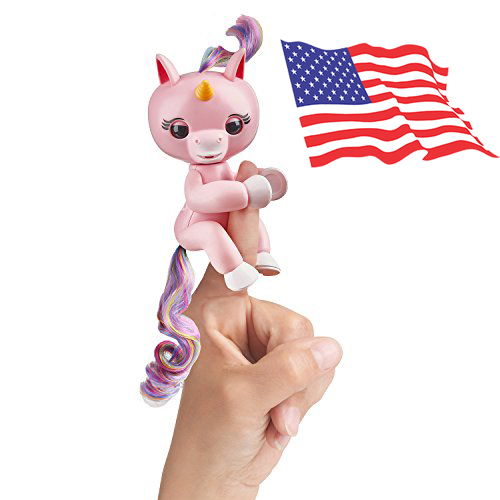 DA017 (ของแท้) wowwee Baby-Unicorn fingerling