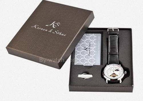 KS069 automatic tourbillion moonphase watch