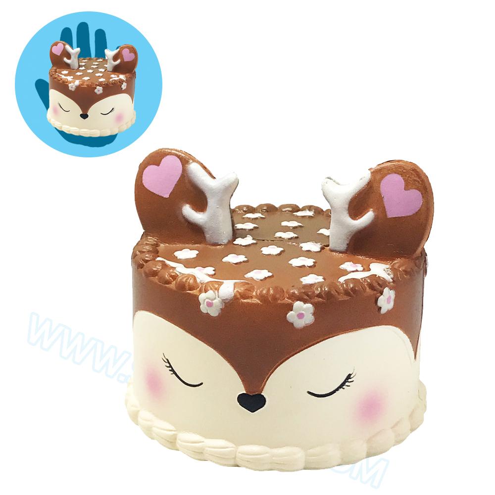 CB596 สกุชชี่ Deer Cake By Eric ขนาด 12 cm (Super Soft) ลิขสิทธิ์แท้