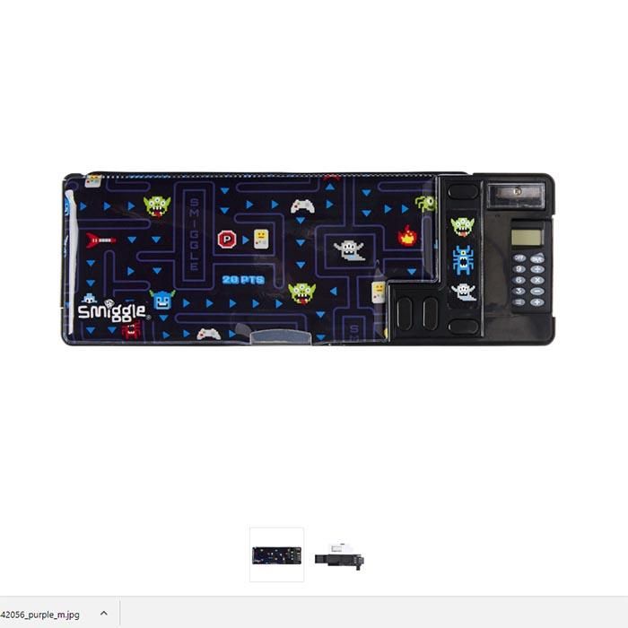 SMP064 กล่องดินสอ พร้อมฟังชั่น smiggle Woah Pop Out Pencil Case