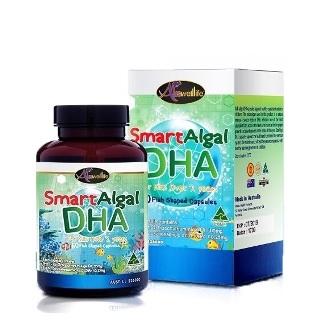 Auswelllife Smart Algal DHA for kids over 2 years 110.25mg วิตามินบำรุงสมอง และเซลล์ประสาทตา