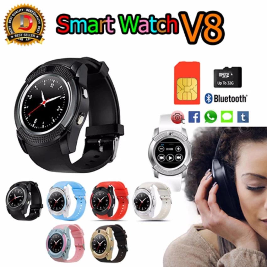 DT Smart Watch รุ่น NEW V8 รองรับการใส่ซิม mirco SD (รหัสสินค้า 2jmfuOm)