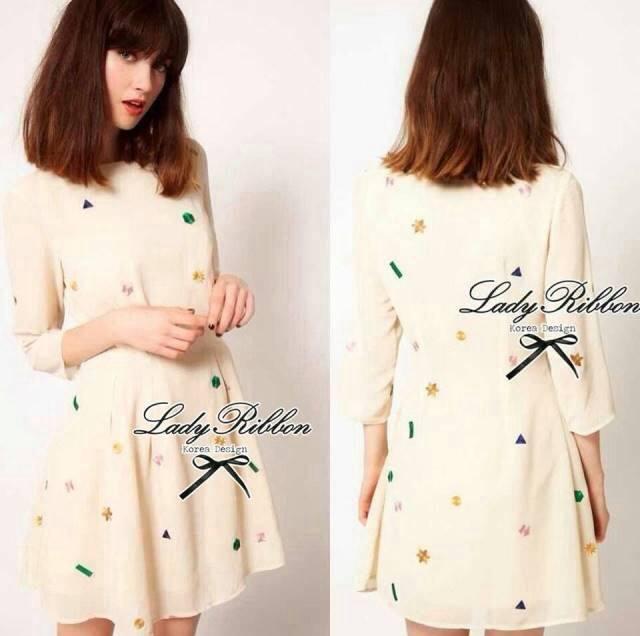 ASOS PETITE Exclusive Geometry Stitch Mini Dress L129-75E07