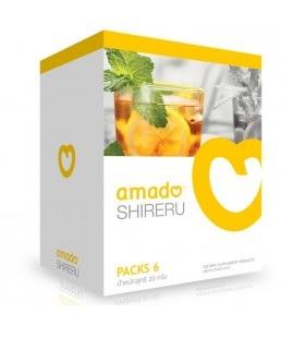 (ซื้อ 2 แถม 1) Amado Shireru อมาโด้ ชิเรรุ บรรจุ 6 ซอง ชามะนาวดื่มแล้วผอม ดักจับไขมัน ดักจับแป้ง เร่งการเผาพลาญ