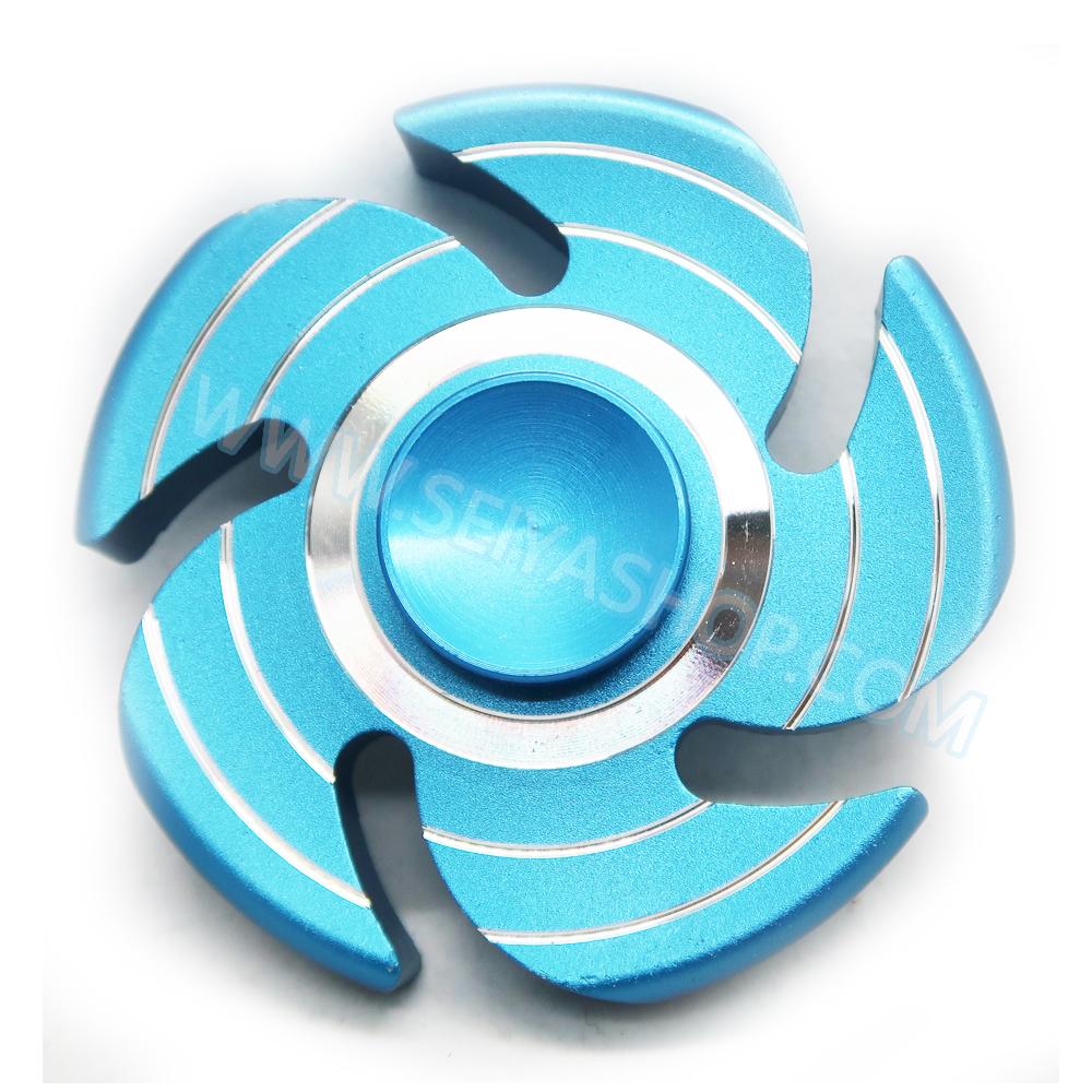 HF195 Fidget spinner -Hand spinner - GYRO (ไจโร) โลหะ รุ่น กงจักร