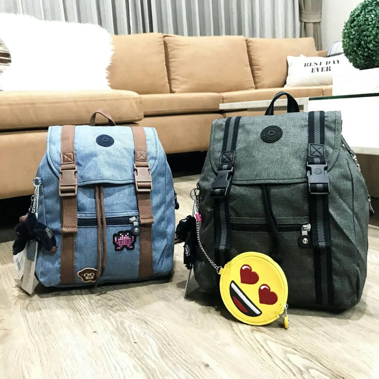 KIPLING Emoji City Backpack Limited Edition 2018 * สินค้า outlet