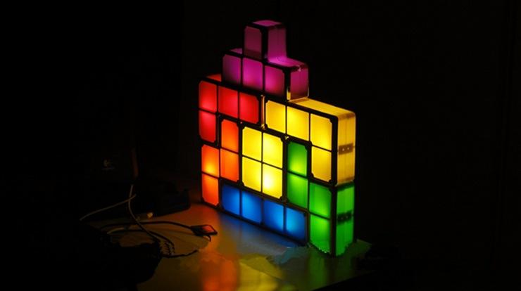 โคมไฟตัวต่อ - Tetris Light