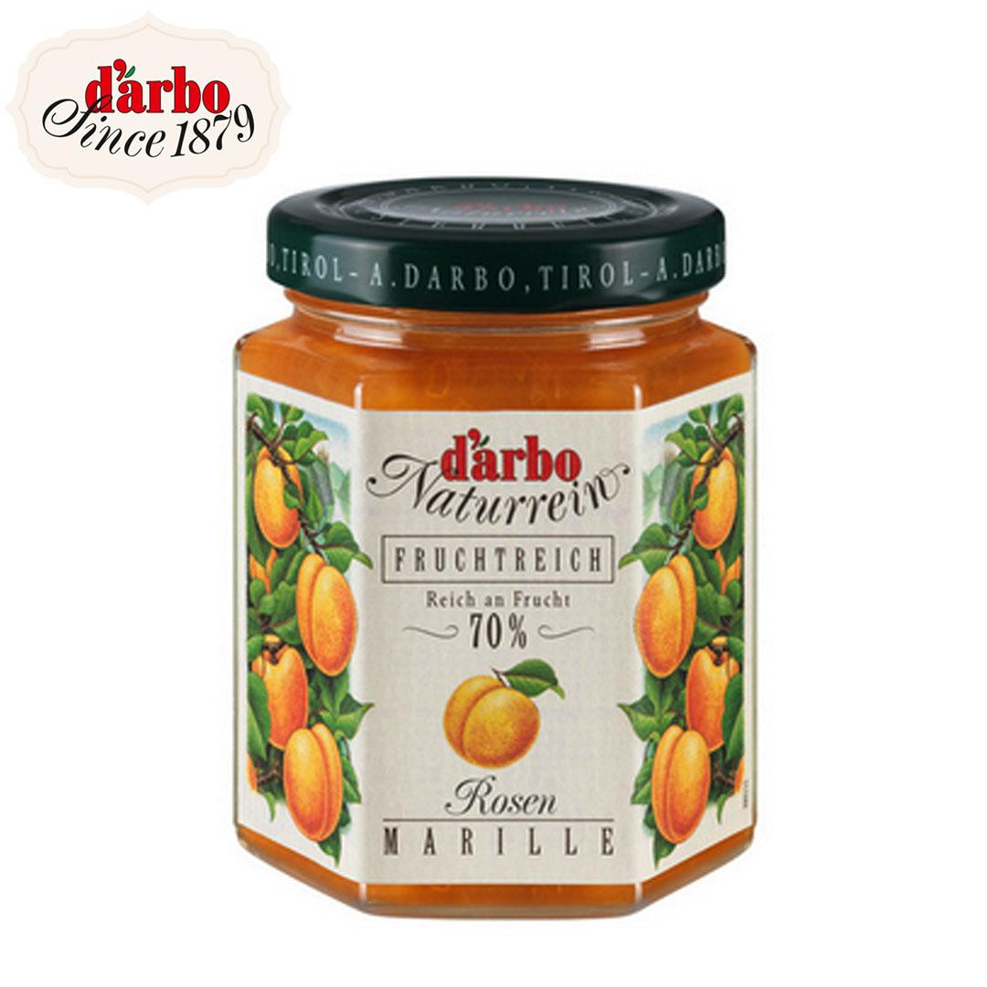 Darbo rose apricot fruit spread 200 g.