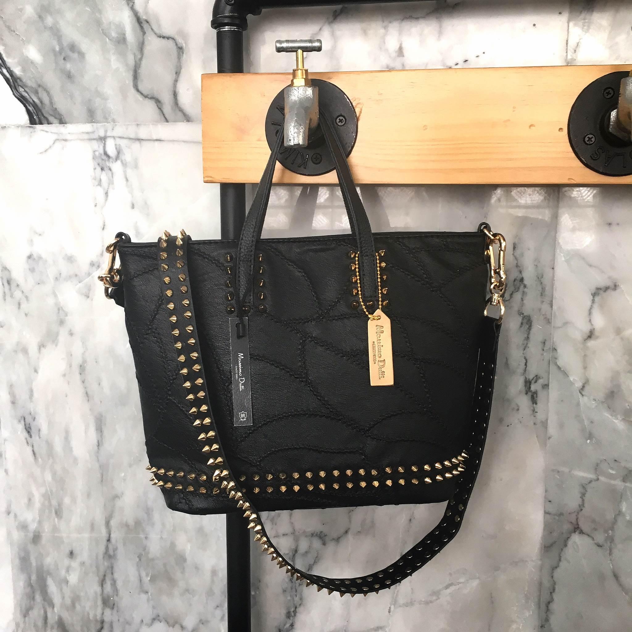 กระเป๋า Massimo Dutti Mini Tote Mix Leather Style ราคา 1,490 บาท Free Ems #มีเสน่ห์น่าค้นหา