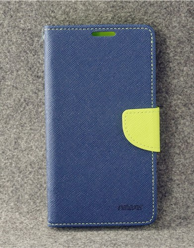 เคส asus zenfone 3 max 5.2 zc520tl ฝาพับ ฝาปิด mercury fancy diary case สีน้ำเงิน-เขียว