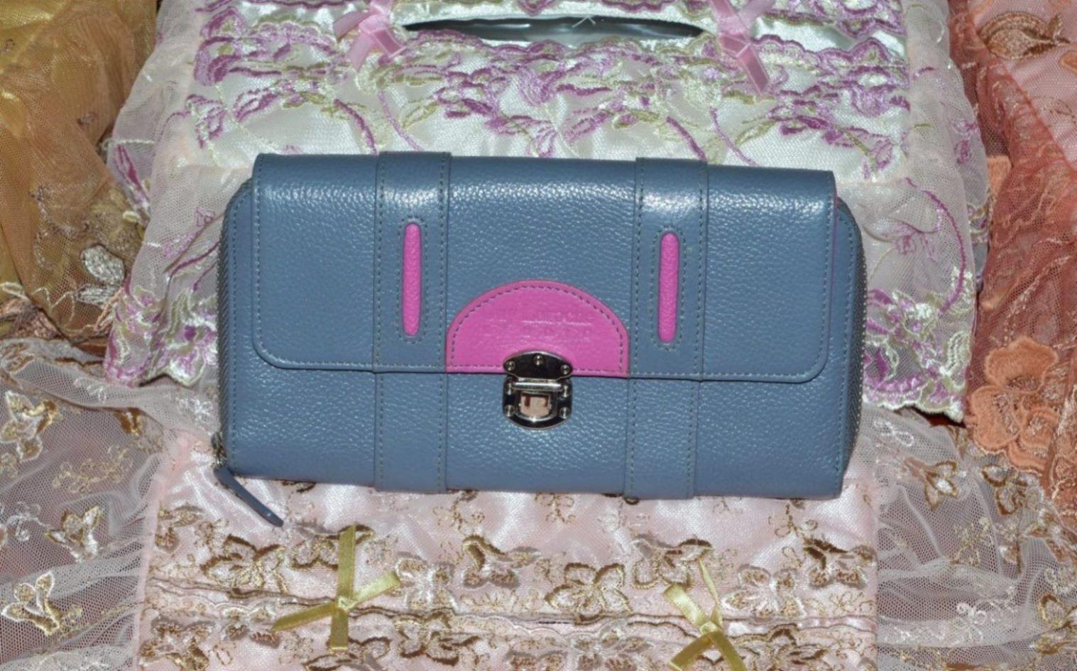 กระเป๋าสตางค์ Guy Laroche ขนาด 10x20 ซ.ม